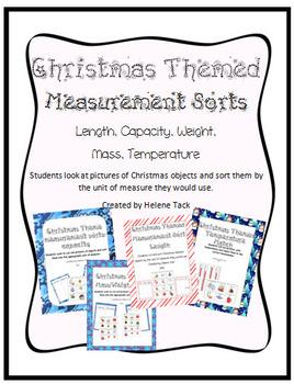 Measurement Sort: Christmas