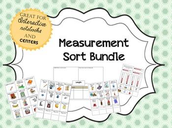 Measurement Sort bundle: Sorts Galore!