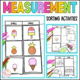 Measurement Sorting Activities