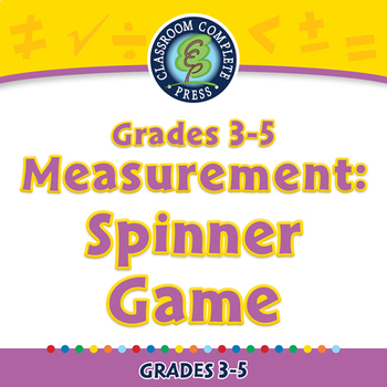 Measurement: Spinner Game - PC Gr. 3-5