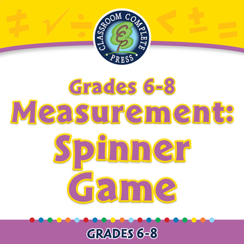 Measurement: Spinner Game - PC Gr. 6-8