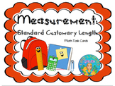 Measurement Standard Customary Length Task Cards: Common Core Aligned