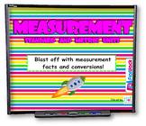 Measurement Standard and Metric Units SMART BOARD Game