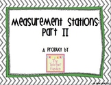 Measurement Stations Using Science and Math Tools: Part II