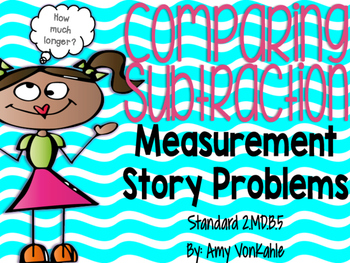 Measurement Story Problems:  How much longer?