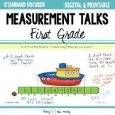 Measurement Talks - First Grade (Common Core Aligned)