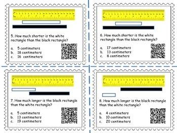 Measurement Task Card Bundle (QR codes)