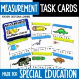 Measurement Task Card Set- Special Education