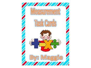 Measurement Task Cards