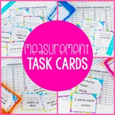 Measurement Task Cards - Practice Linear Measurement & Reading a Ruler