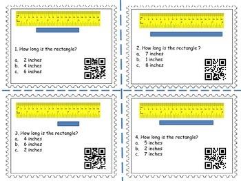 Measurement Task Cards 2 (QR Codes)