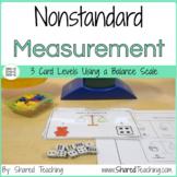 Nonstandard Measurement Task Cards