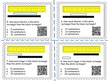 Measurement Task Cards 3 (QR Codes)
