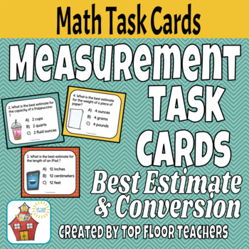 Measurement Task Cards