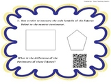 Measurement Task Cards with QR Codes: Area, Perimeter, & Volume