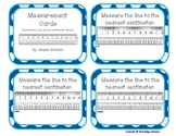Measurement Task Cards- Centimeter (cm) and 1/2 Centimeter