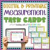 Measurement Task Cards | Distance Learning | Google Classroom