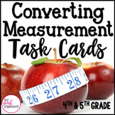 Converting Measurements Task Cards - Customary & Metric Le