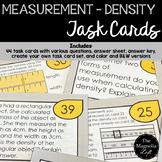 Measurement Task Cards DENSITY