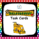 Measurement Task Cards | Length, Perimeter, and Area