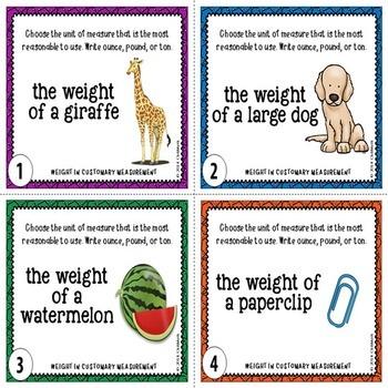 Measurement Task Cards MEGA BUNDLE