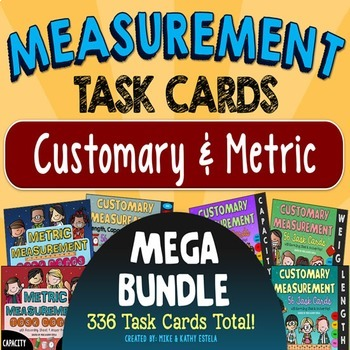 Measurement Task Cards MEGA BUNDLE