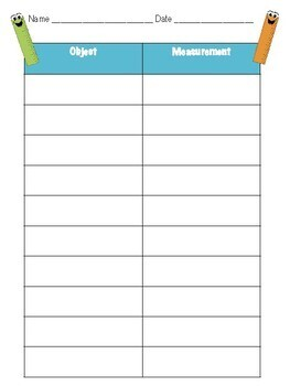 Measurement Task Cards - Measure Items in the Classroom!