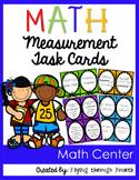 Measurement Task Cards {Metric & Customary Units}