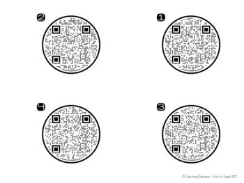 Measurement Task Cards {QR Code Answers}