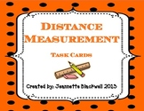 Measurement Task Cards- Ruler Practice and Distance