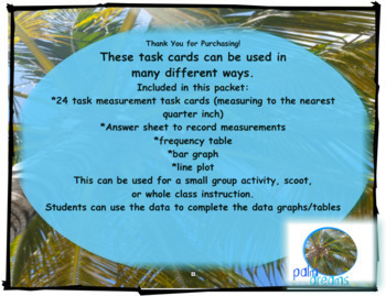 Measurement Task Cards Unit