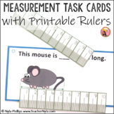 Measurement Task Cards for mm and cm - Metric System