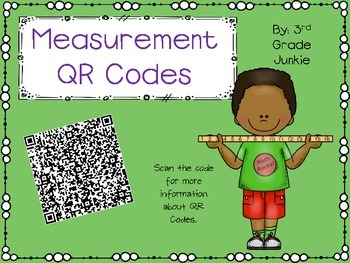 Measurement Task Cards - with QR Codes