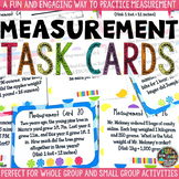 Measurement Task Cards & Game: Measurement Conversions