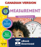 Measurement - Task & Drill Sheets Gr. 3-5 - Canadian Content