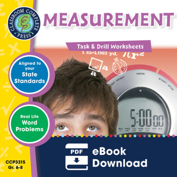 Measurement - Task & Drill Sheets Gr. 6-8