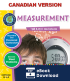 Measurement - Task & Drill Sheets Gr. 6-8 - Canadian Content