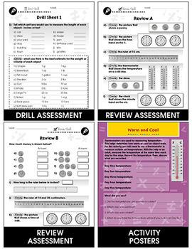 Measurement - Task & Drill Sheets Gr. PK-2