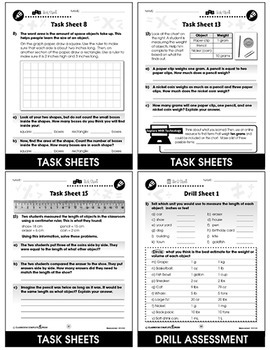 Measurement - Task Sheets Gr. PK-2