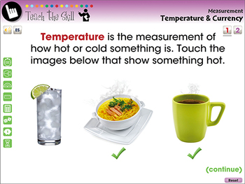 Measurement: Temperature & Currency - PC Gr. PK-2