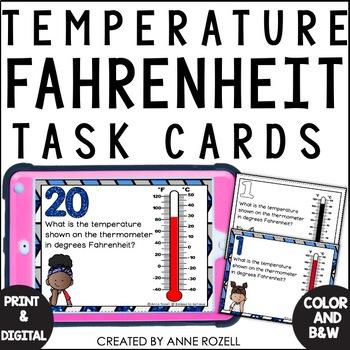 Measurement - Temperature Degrees Fahrenheit