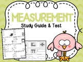 Measurement  Test & Study Guide