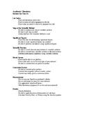Measurement Unit 1 Test Topic List