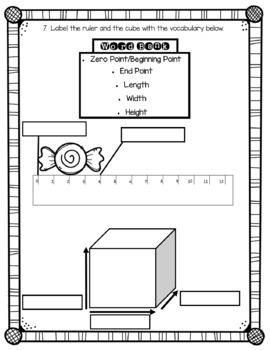 Measurement Test or Worksheet {Confetti and Creativity}