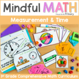 Measurement & Time (Hour & Half Hour) - First Grade Mindful Math