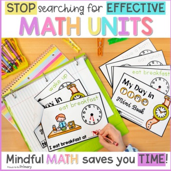 Grade 1 Math: Measurement & Time (Hour & Half Hour)