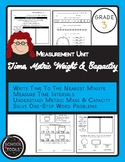 Measurement: Time, Metric Weight & Capacity