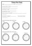 Measurement - Time Test PDF