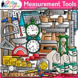 Measurement Tools Clip Art - Volume, Mass, Perimeter, and Area
