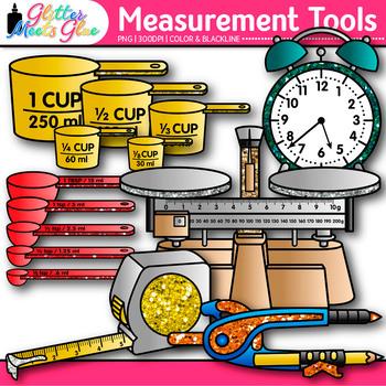 Measurement Tools Clip Art: Volume, Mass, Perimeter ...
